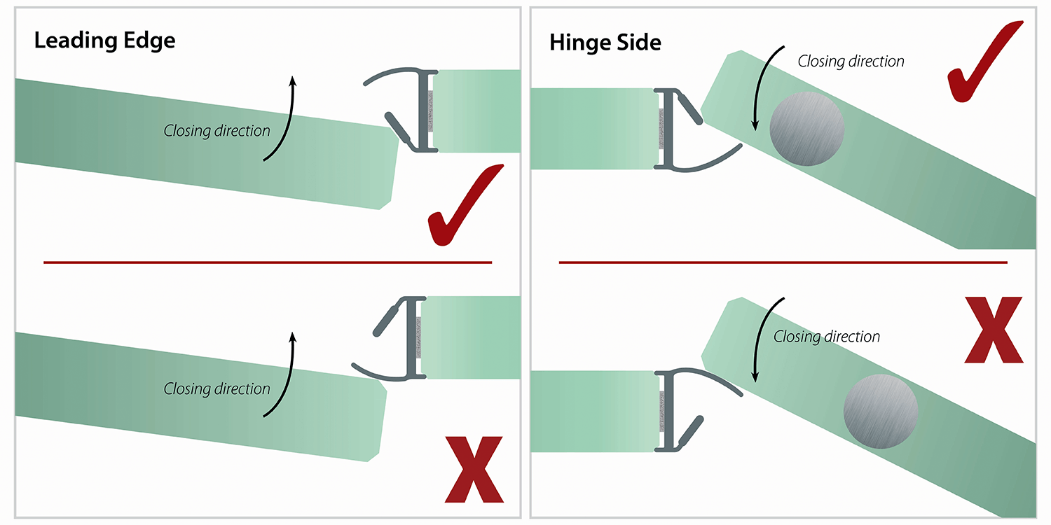 door joint illustration