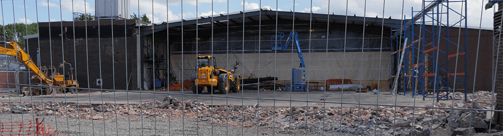 Building work at Reddiplex